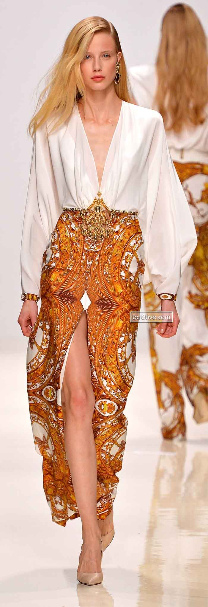 Valentin Yudashkin Spring 2014. This is so gorgeous. Just right for wearing to the supermarket do you think???