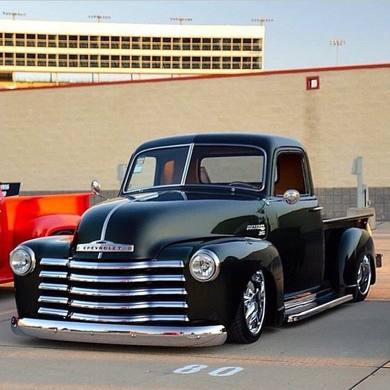 Chevy truck - I really like the front end and windows on this one!