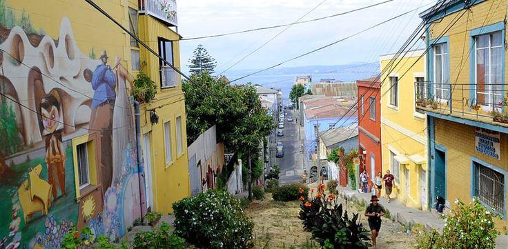✶ Paseo Gervasoni, Valparaiso, CHILE ✶
