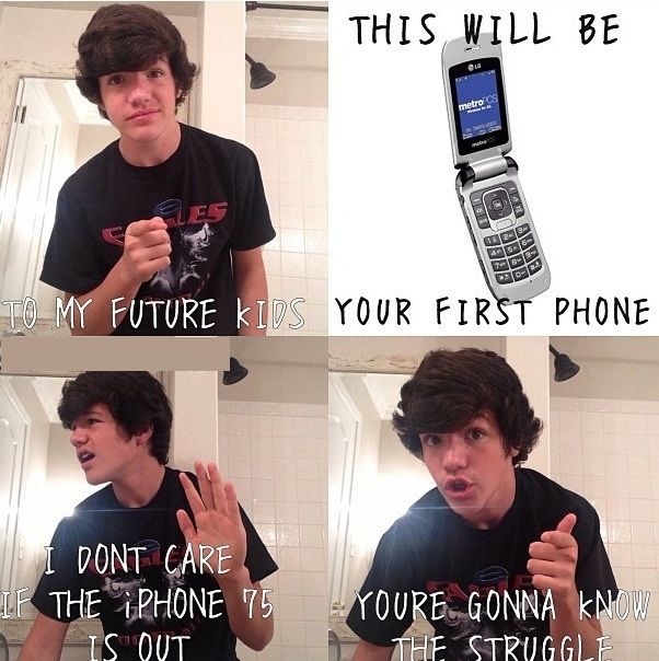 Funny Phone #First, #Future
