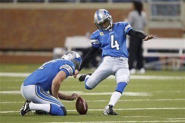 Jason Hanson...kickin' it for the Lions