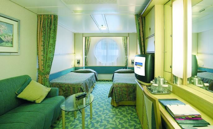 Oceanview cabin on the Enchantment of the Seas | Cruise ... Enchantment Of The Seas Cabins