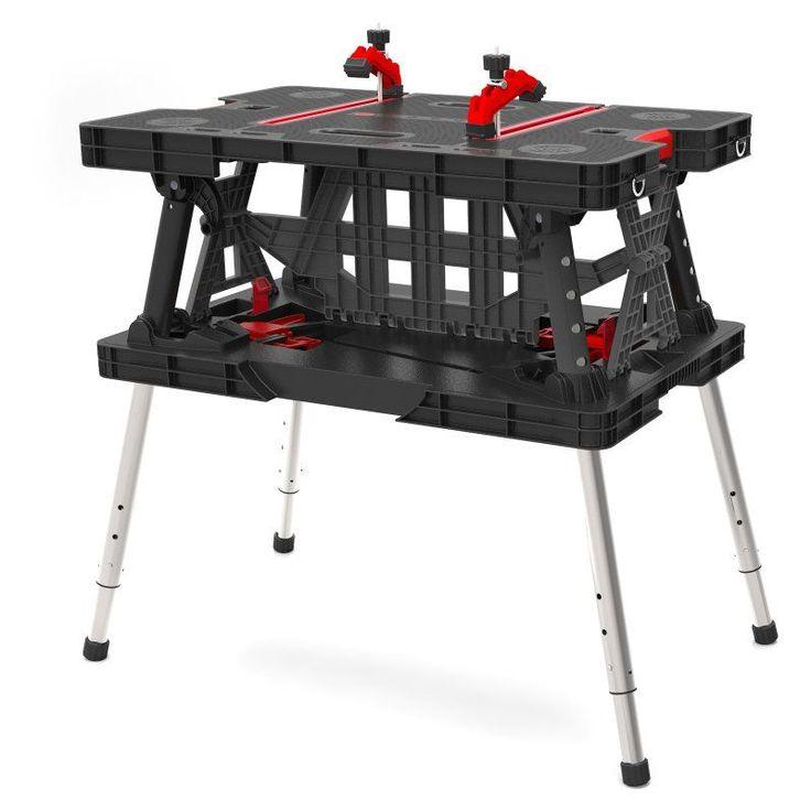 Keter Adjustable Folding Work Table - 217679