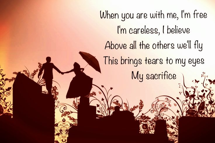 My Sacrifice lyrics - Creed (Made by me)