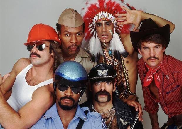 6th January 1979, The Village People scored their only UK