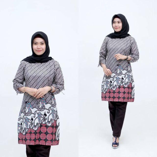 Model Baju Batik Tunik 2019 Terbaru