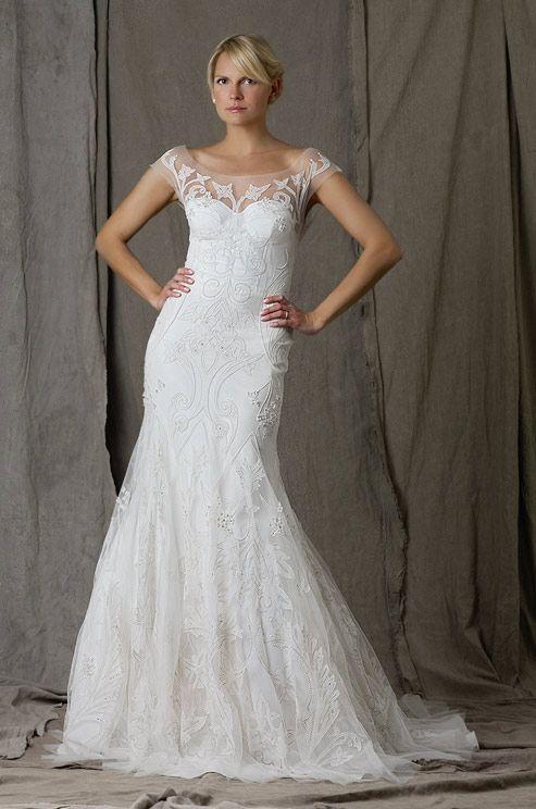 Lela Rose Beaded Wedding Dress Fall 2017 I Love This