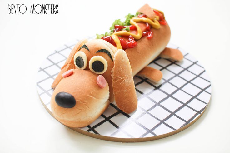 It's really a hot DOG -- Hot Dog Bread Bun by Bento Monsters