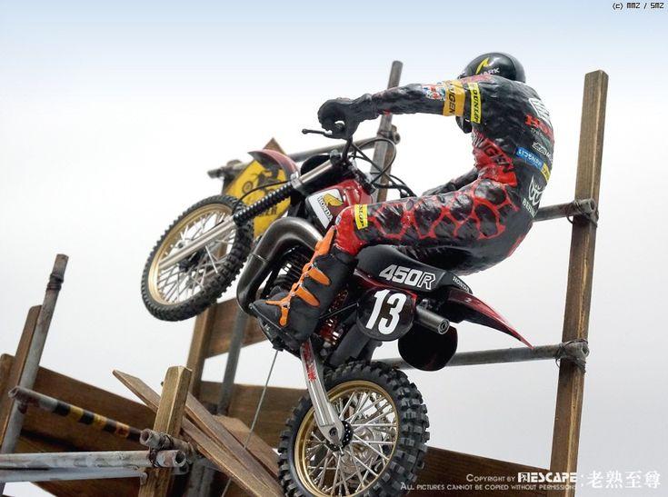 1 12 Honda CR450R Motocrosser W Rider By Figure ModelScale ModelsHondaDioramasVignettesMotorcyclesMotorbikesCrotch Rockets
