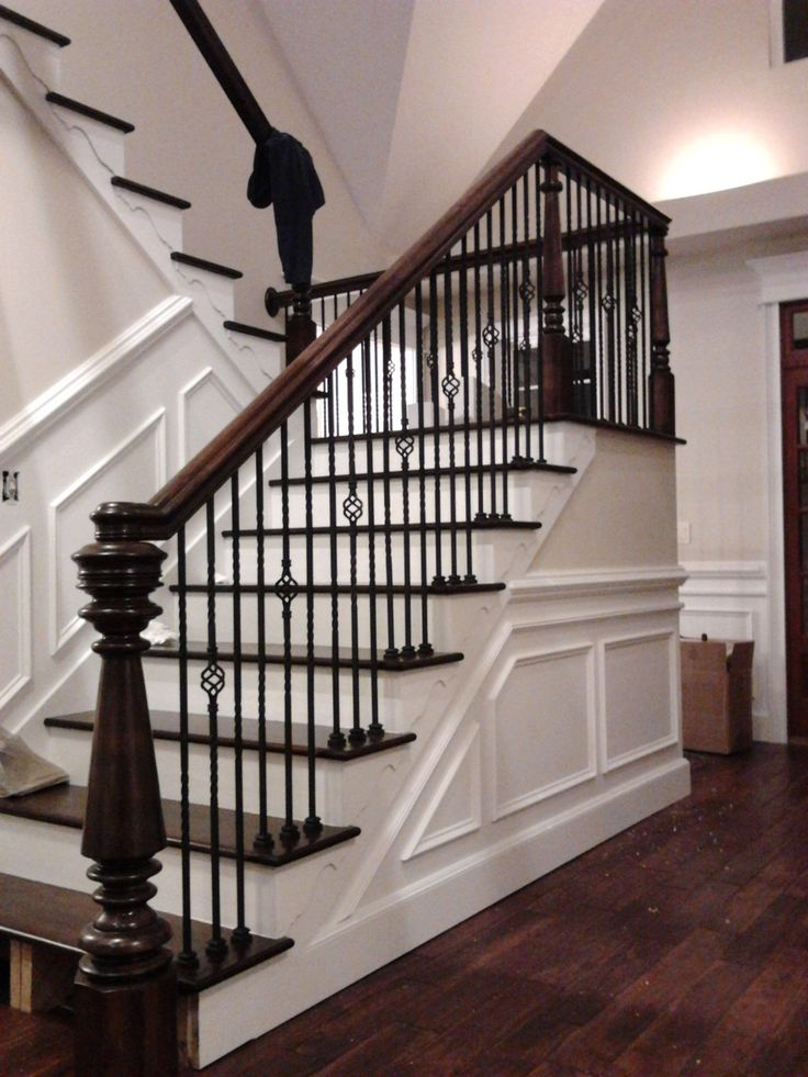 Custom Newel Post And Stairs