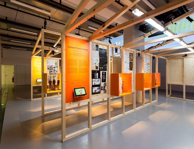 Scénographie de l'exposition Motion Factory