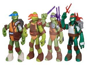 This a link to the new Teenage Mutant Ninja Turtle toys for 2013. ©Playmates