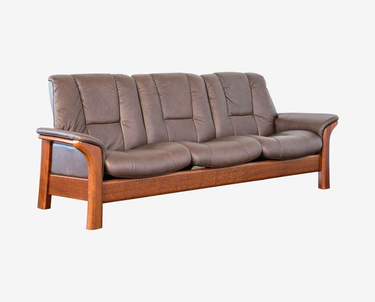 dania designed and made in norway the buckingham stressless lowback sofa
