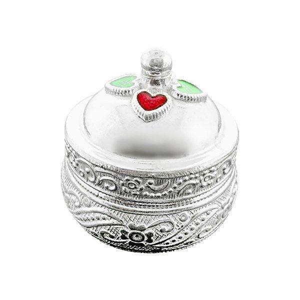 Jpearls Pure Silver Kumkum Dabbi