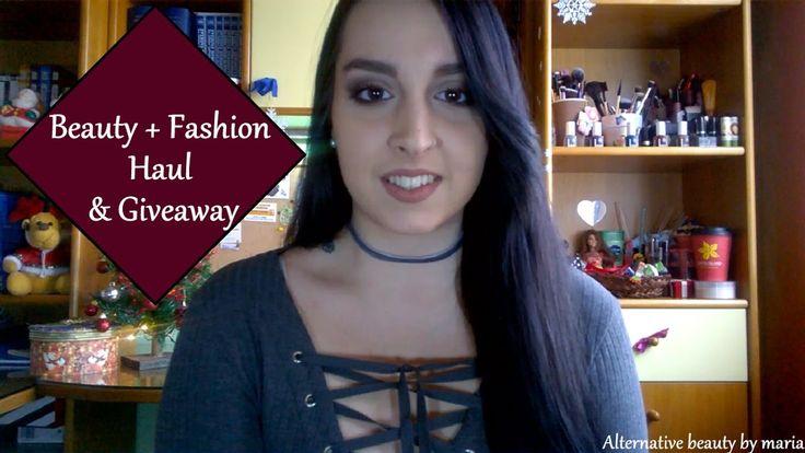Beauty + Fashion Haul (part 2) & Giveaway| Alternative beauty