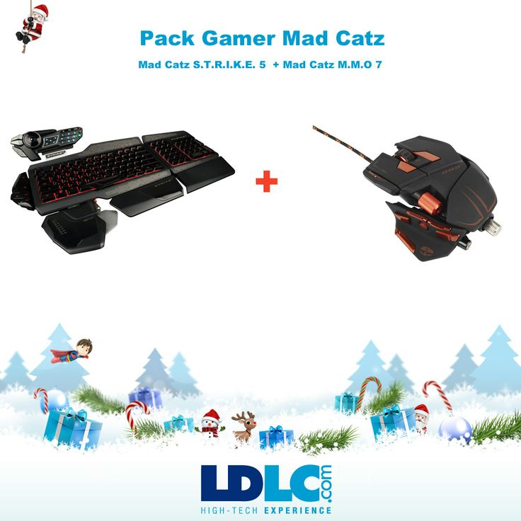 Grand jeu de Noël LDLC ! Vous avez voté pour : Pack Gamer Mad Catz  www.ldlc.com/... + www.ldlc.com/...