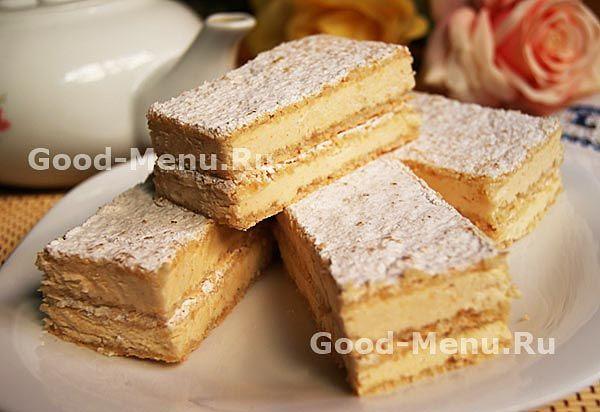 Миндальный торт с лесными орехами - рецепт