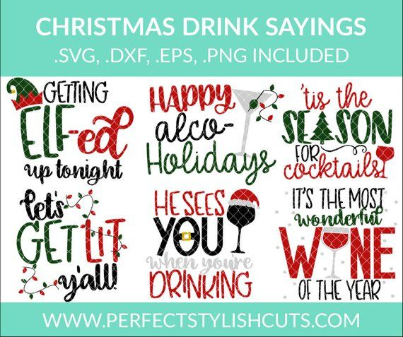 Christmas Funny Quotes Svg