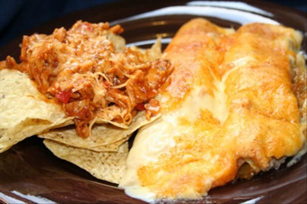 Shredded Barbecue Chicken and Chips. Photo by ~Nimz~