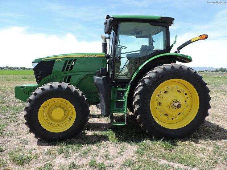 2012 John Deere 6170R - Utility Tractors - John Deere $147,600 US HOURS: 994 (SEPTEMBER 30, 2014) Configuration: Standard / Cab / IVT / Guidance-ready: Yes / MFWD / PTO: 540/1000 / Tire Width: Mid 2012 DEERE 6170R , MFWD, IVT Used / On Lot