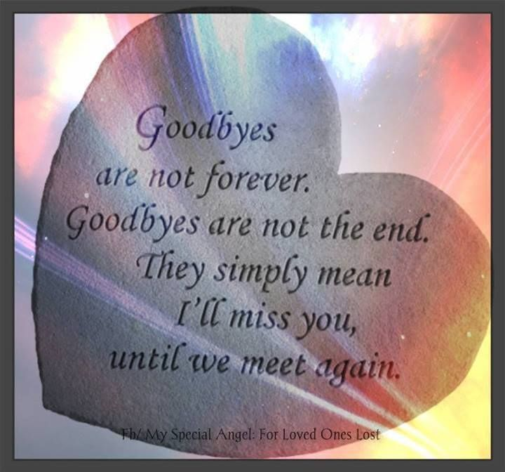 9 Year Death Anniversary Quotes: Goodbyes Are Not Forever