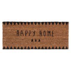 Paillasson Happy Home 25 x 55 cm CLAIRE | Maisons du Monde