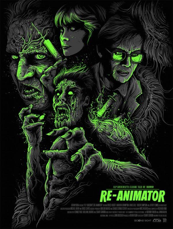 Re-Animator - Dan Mumford ----