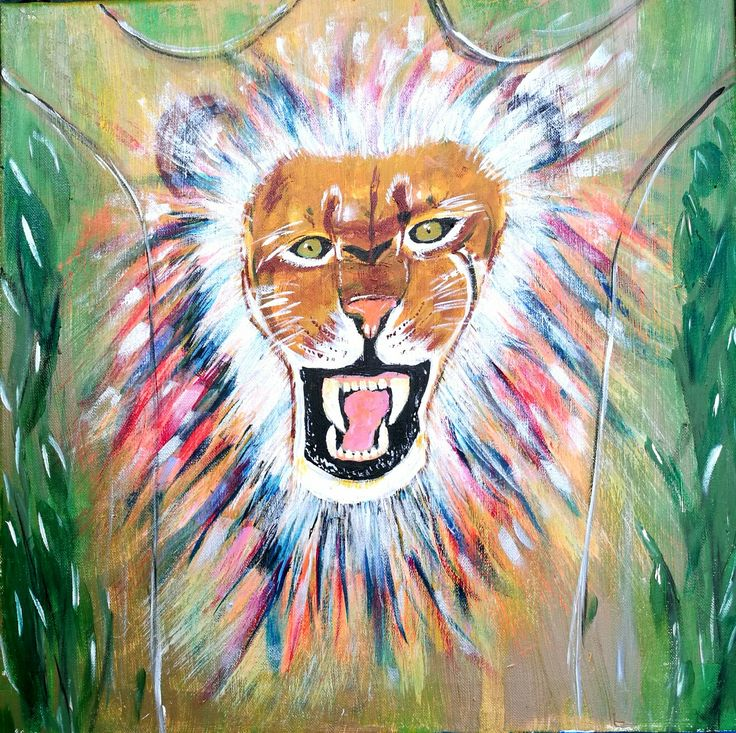 Got this pic from proverbs 19:12 Kings wrath is like a roaring lion , but his favour like dew on grass. The truth is God put all His wrath on Jesus when His body hung on the cross. And when we think God is angry or displeased with us we will not be confident in His love . Instead we will fear punishment and will want to stay away from Him. The truth is that the Lion lives inside you.
