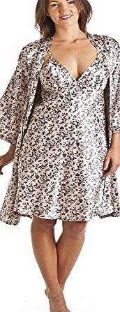 Camille Luxury Kimono Style Brown Floral Print Chemise And Wrap Set 14/16 Luxury knee length Satin chemise and wrap in a choice of three pretty colours. Available in a Brown Floral,Pink Floral and a Blue Polka Dot design. The robe has a classic (Barcode EAN = 5050535436350) http://www.comparestoreprices.co.uk/chemises/camille-luxury-kimono-style-brown-floral-print-chemise-and-wrap-set-14-16.asp