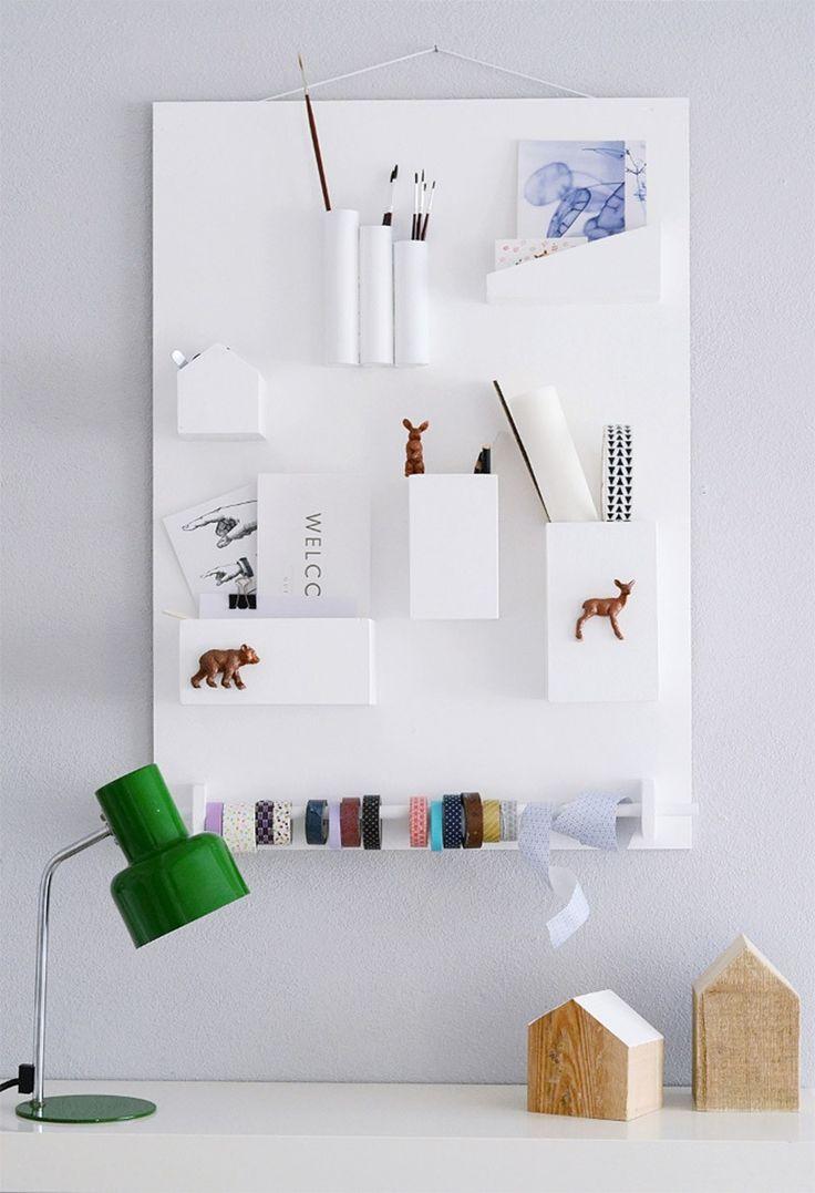 Les 25 meilleures id es de la cat gorie vide poche sur pinterest diy vide poche vide poches - Vide poche mural tissu ...