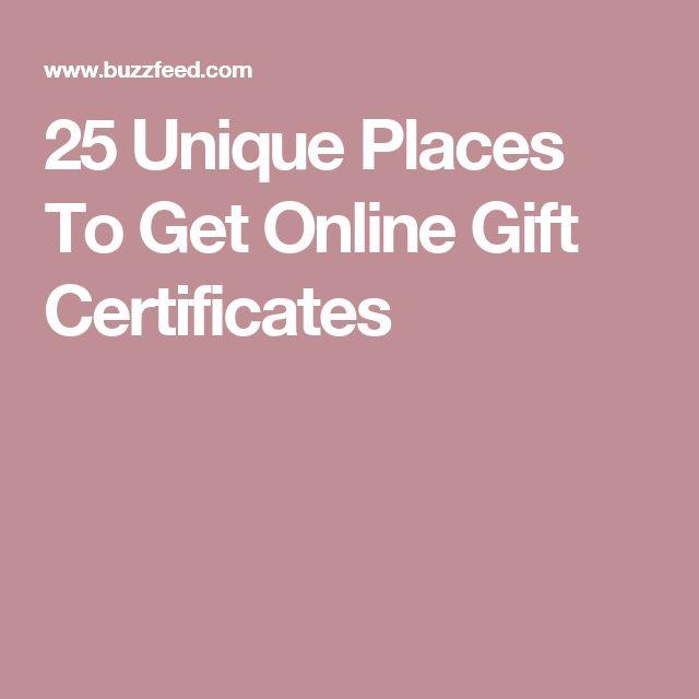 Best 25+ Online gift certificates ideas on Pinterest Apply - create gift certificate online free