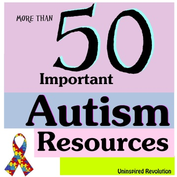 Autism Resources at RockinAutismMom.Com