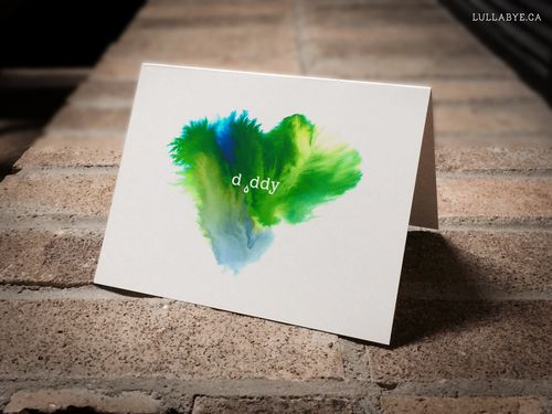Bereaved Father / Father's Day Card / Baby loss
