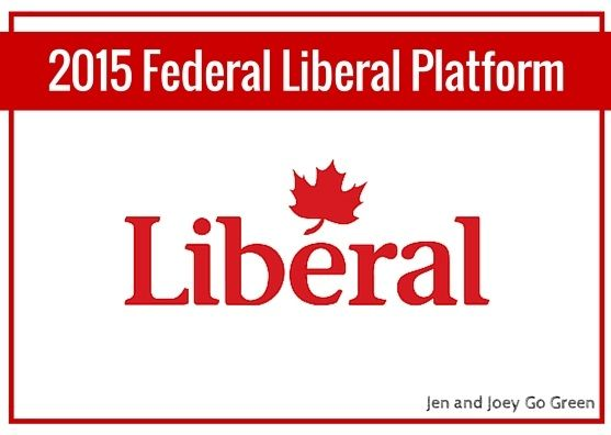 02015 Election - Liberal Party of Canada Platform