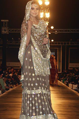 Mehdi's Collection at the finale of #Bridal Couture Week #Karachi 2011