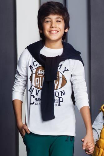 T-Shirt - Baskılı Genç Erkek T-shirt
