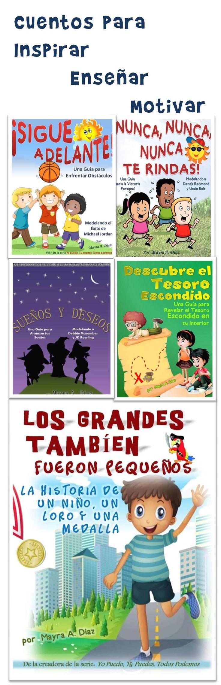 Cuentos en Español para Niños De la serie Yo puedo, Tú puedes, Todos podemos. Por Mayra A Diaz #kindleUnlimited #spanish #kidlit Kindle Unlimited Amazon Prime