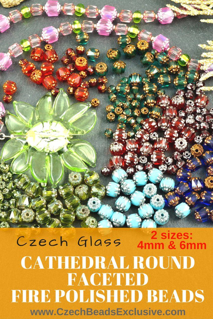 Czech Glass Cathedral Round Faceted Fire Polished Beads  2 Sizes and 3 Finishes! - Buy now with discount!  Hurry up - sold out very fast! www.CzechBeadsExclusive.com/+cathedral SAVE them! ??Lowest price from manufacturer! Get free gift! 1 shipping costs - unlimited order quantity!  Worldwide super fast ?? shipping with tracking number! Get high wholesale discounts! Sold with  at http://www.CzechBeadsExclusive.com #CzechBeadsExclusive #czechbeads #bead #beaded #beading #beadedjewelry…
