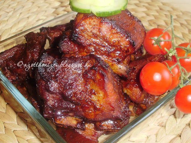 Az otthon ízei: Mézes-mázas oldalas sütőzacskóban sütve
