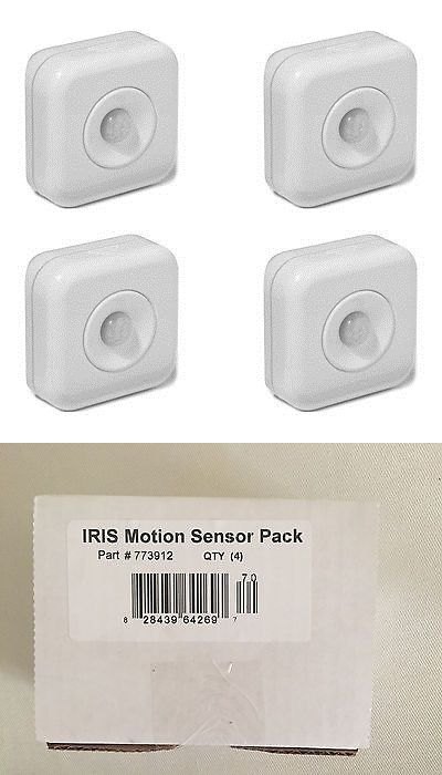 Home Automation Modules: Pack Of 4 - Iris 120-Degree Passive Infrared Security Motion Sensor 773912 -> BUY IT NOW ONLY: $34.77 on eBay!