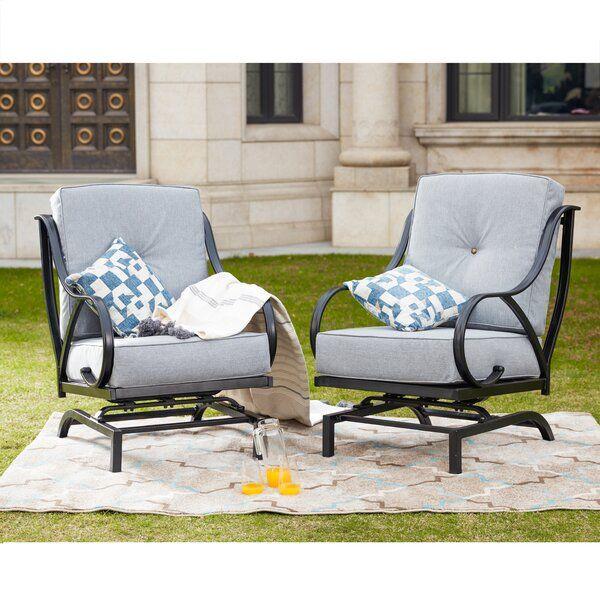 reid outdoor rocking motion patio chair