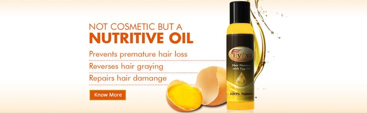 Eyova brings you the most liked Hair oil for long and shiny hair.   Buy Eyova Egg Oil for best hair loss treatment for Men & Women.