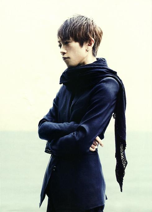 Yukihiro (L'Arc~en~Ciel) in WHAT's IN? (Japan music magazine) 2013. J-rock.