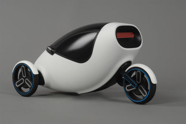 MONO The Single Person Electric Car by Elena Gerber