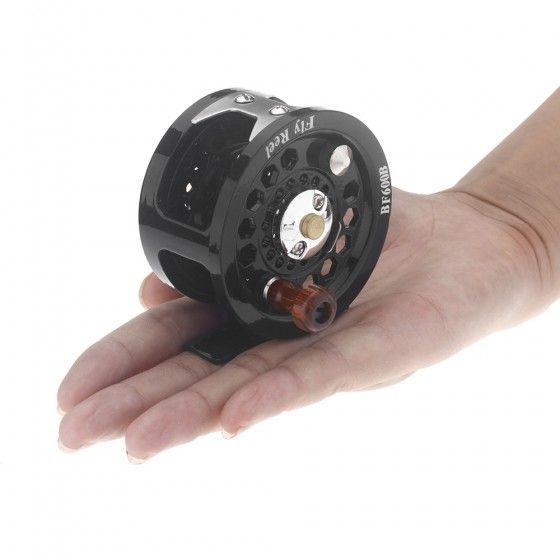 Plastic Fly Fish Reel Former Ice Fishing Vessel Wheel BF600B 0.35mm/200m 1:1