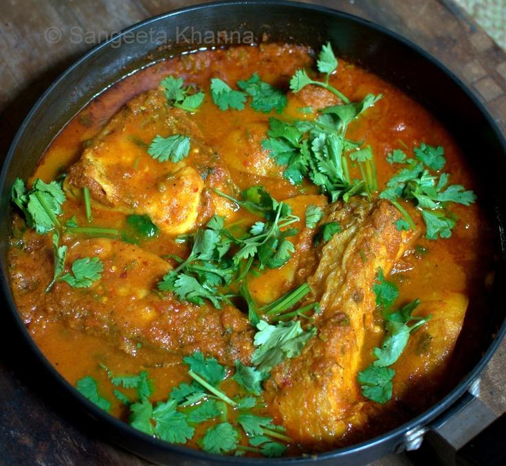 banaras ka khana: tamatar waali macchli | fish in a tomato gravy ...
