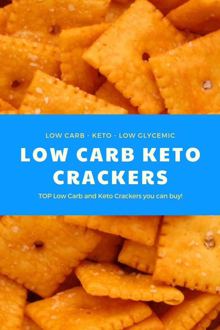 TOP 8 Low Carb Crackers To Buy Online!