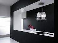 Nice Cooker Hood... works in a black kitchen...