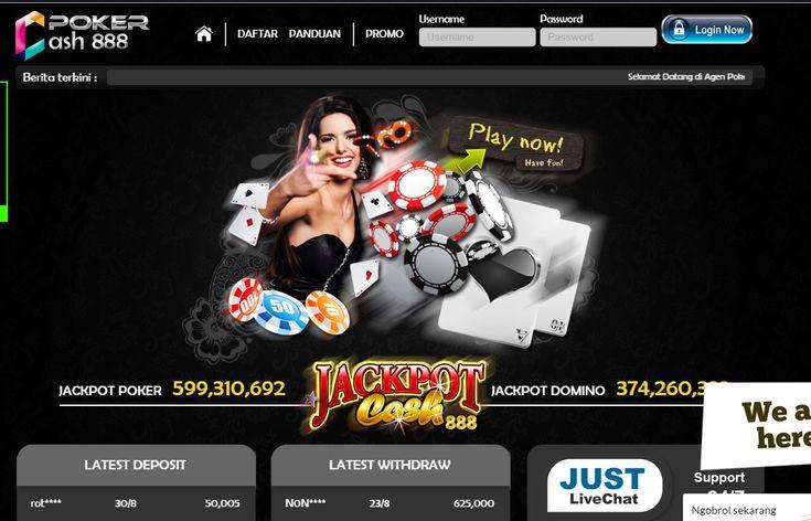 PokerCash888 - Poker Online, Domino Online, Terpercaya