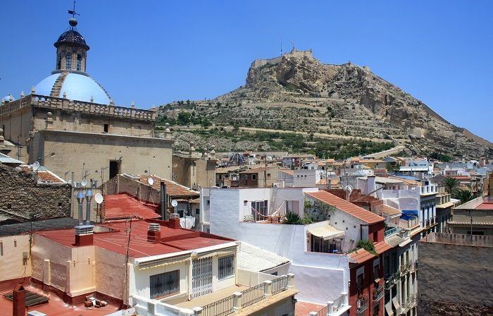 View from the rooftop, Alicante
